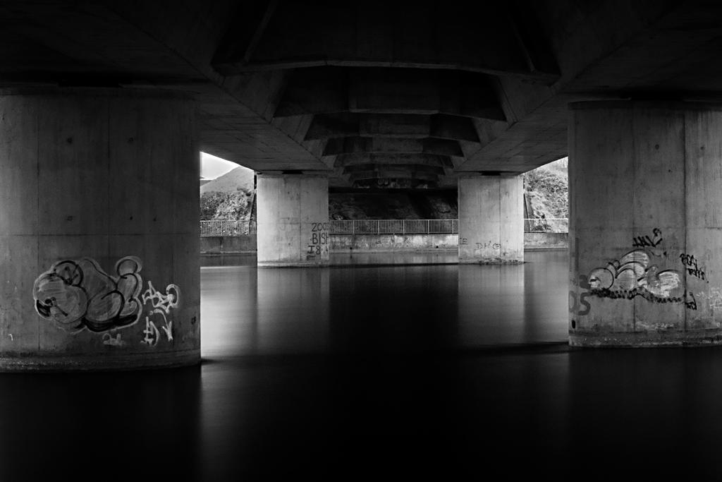 Beneath the Quincentennial Bridge
