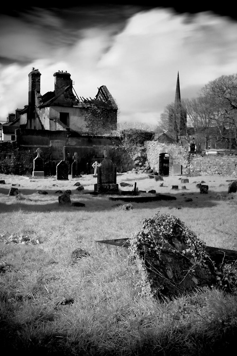 Chruch graveyard in Athenry