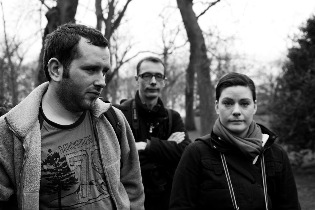 Ryan, Darren, and Julie