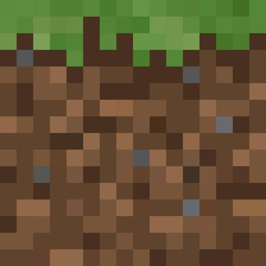 Minecraft grass.