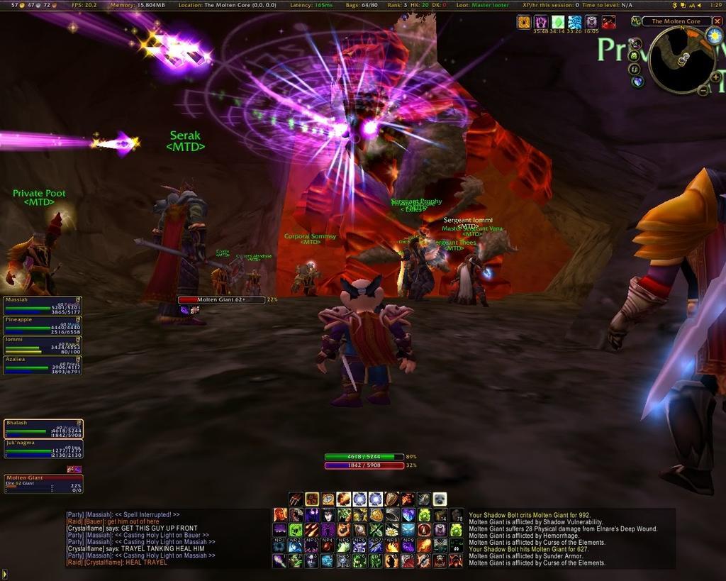 Bhalash raids Molten Core with The Republic