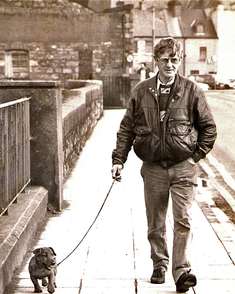 Dad on the Wolfe Tone Bridge, ~1990