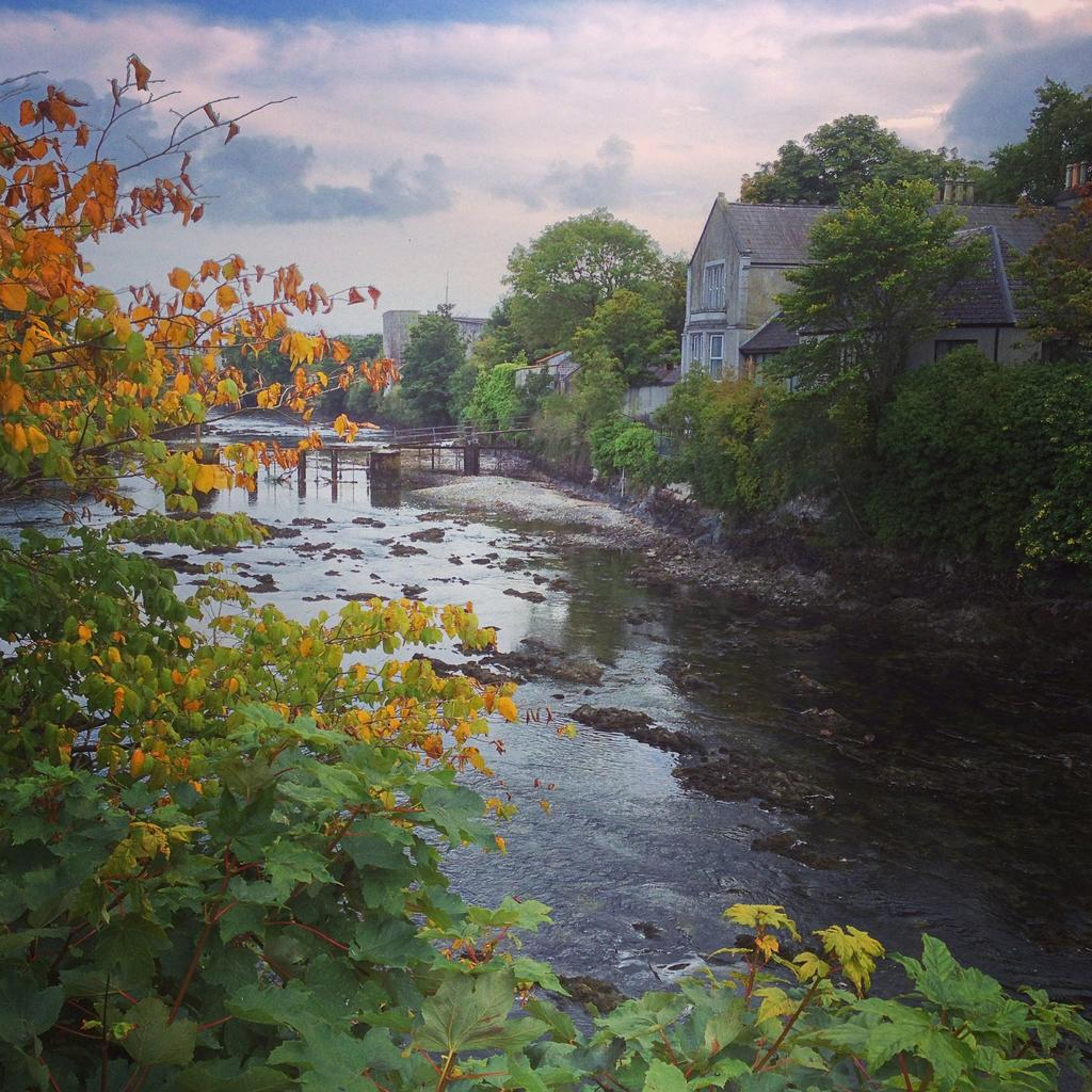 Drained River Corrib