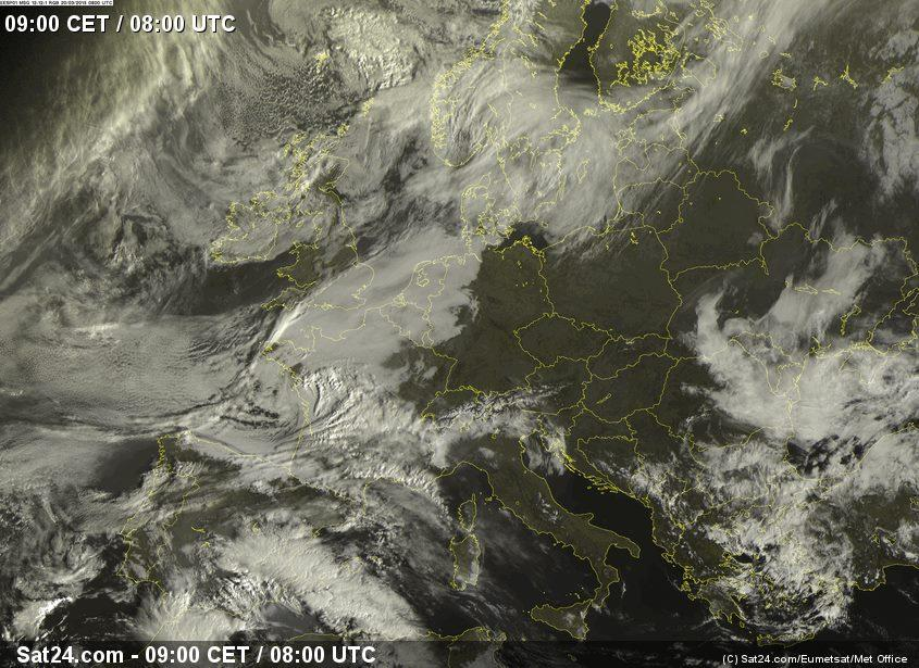 Eclipse over Europe, courtesy of sat24