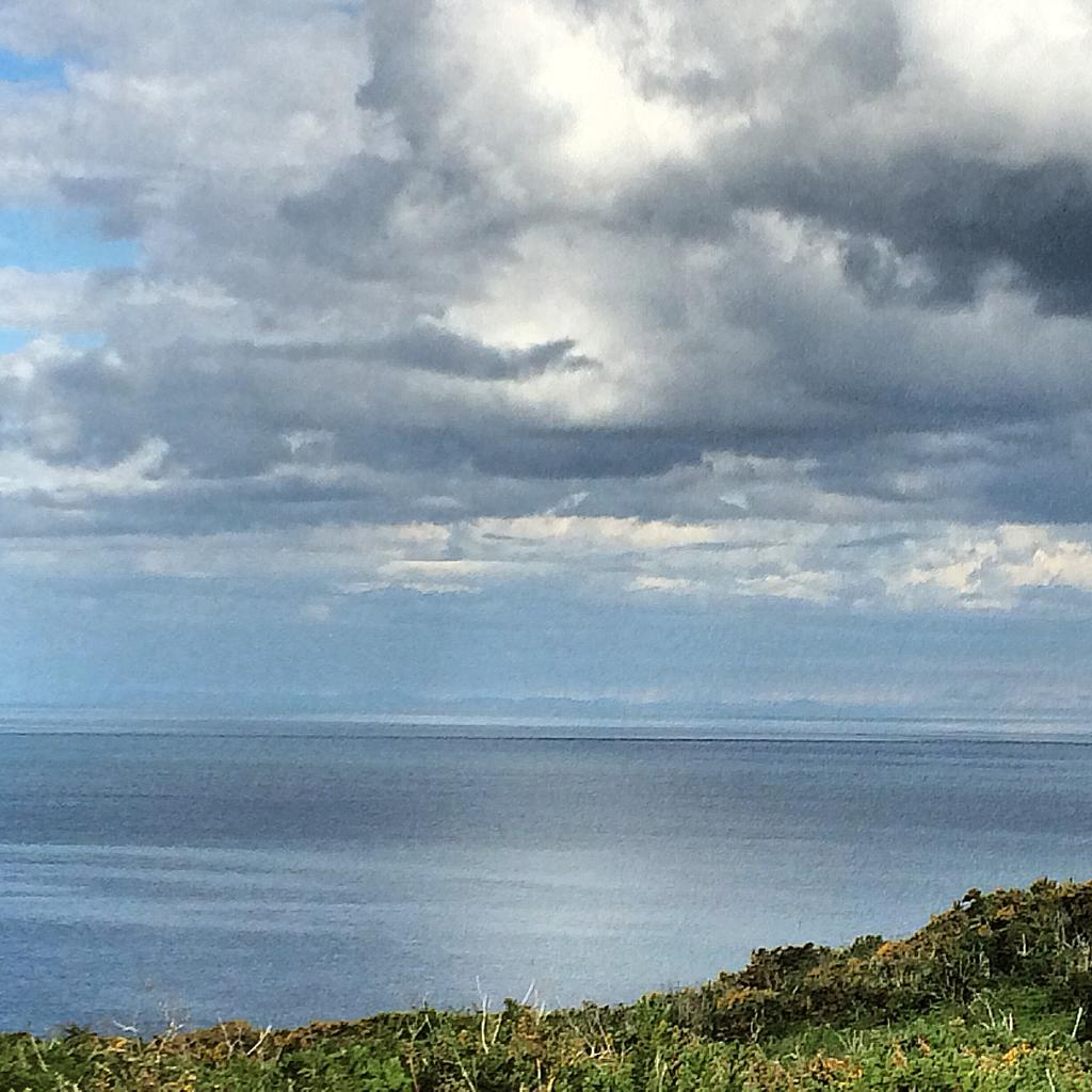 The Welsh coast from Wicklow