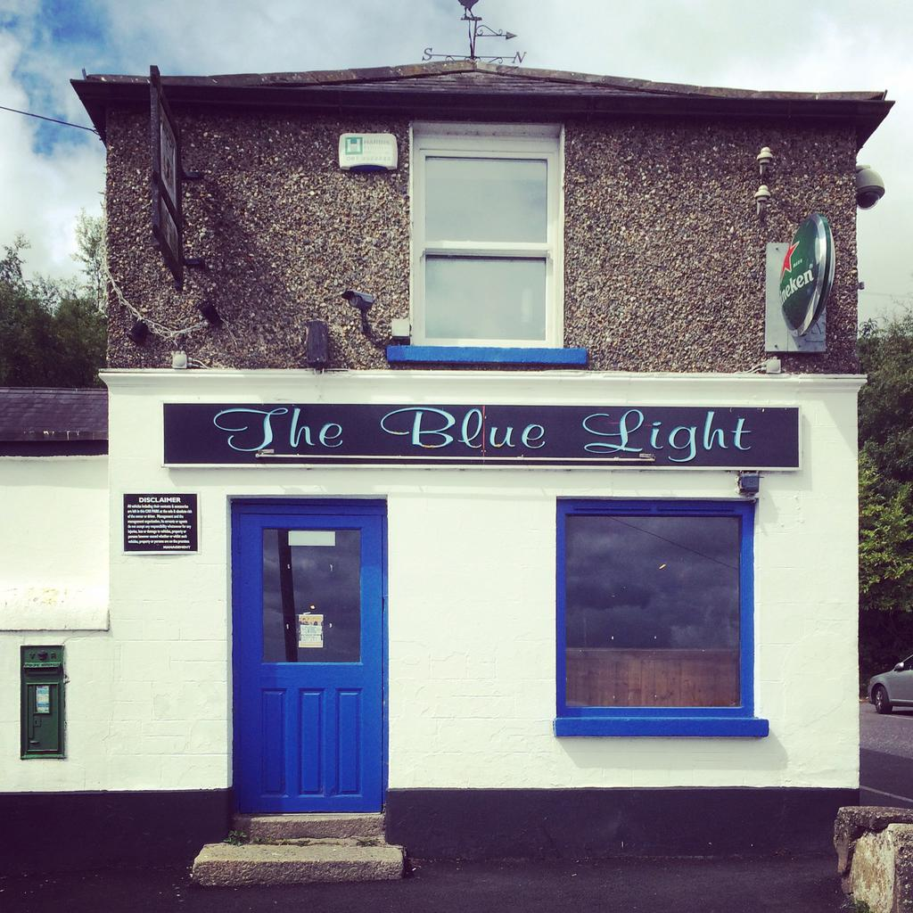 The Blue Light pub, Barnacullia