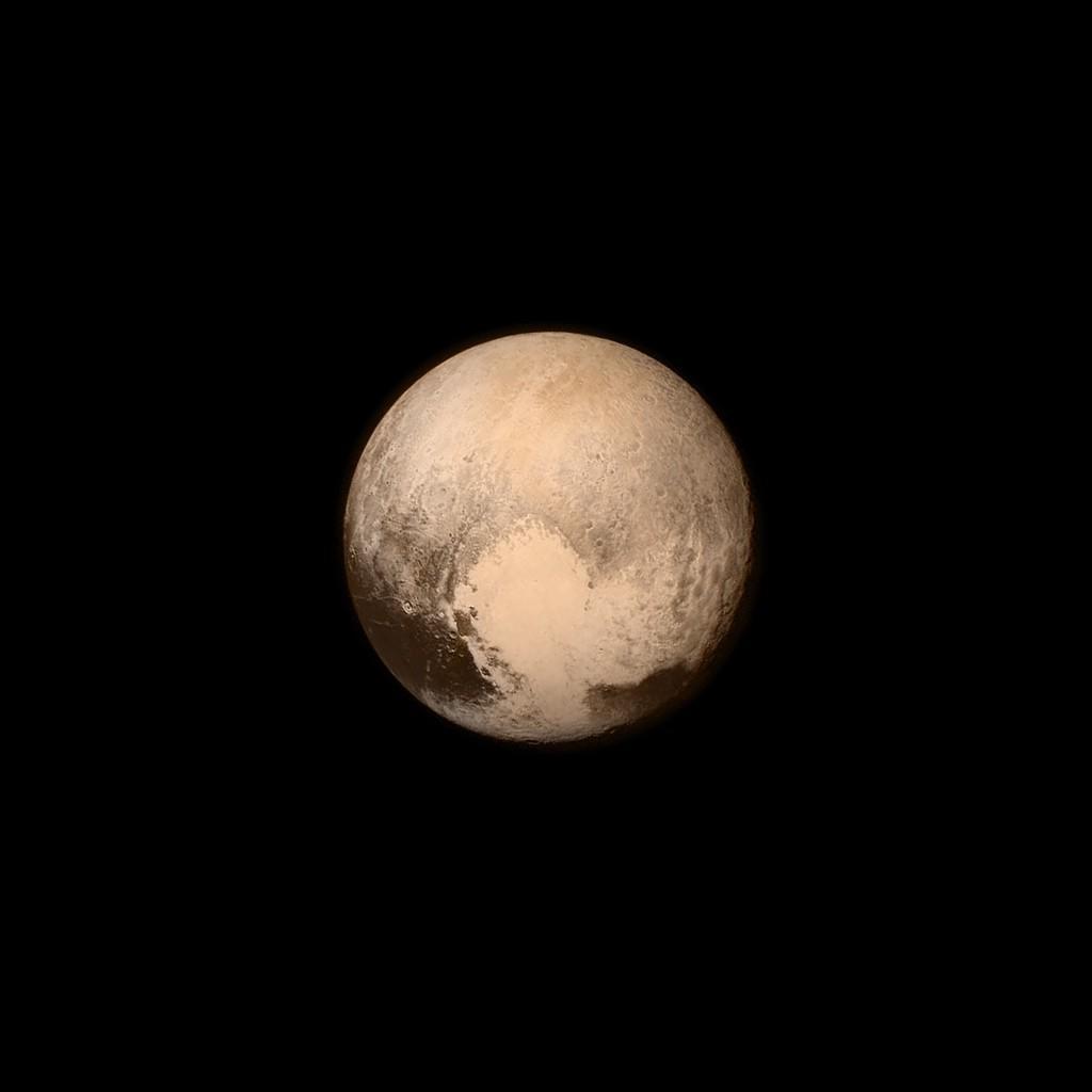 Pluto from 100k kilometres