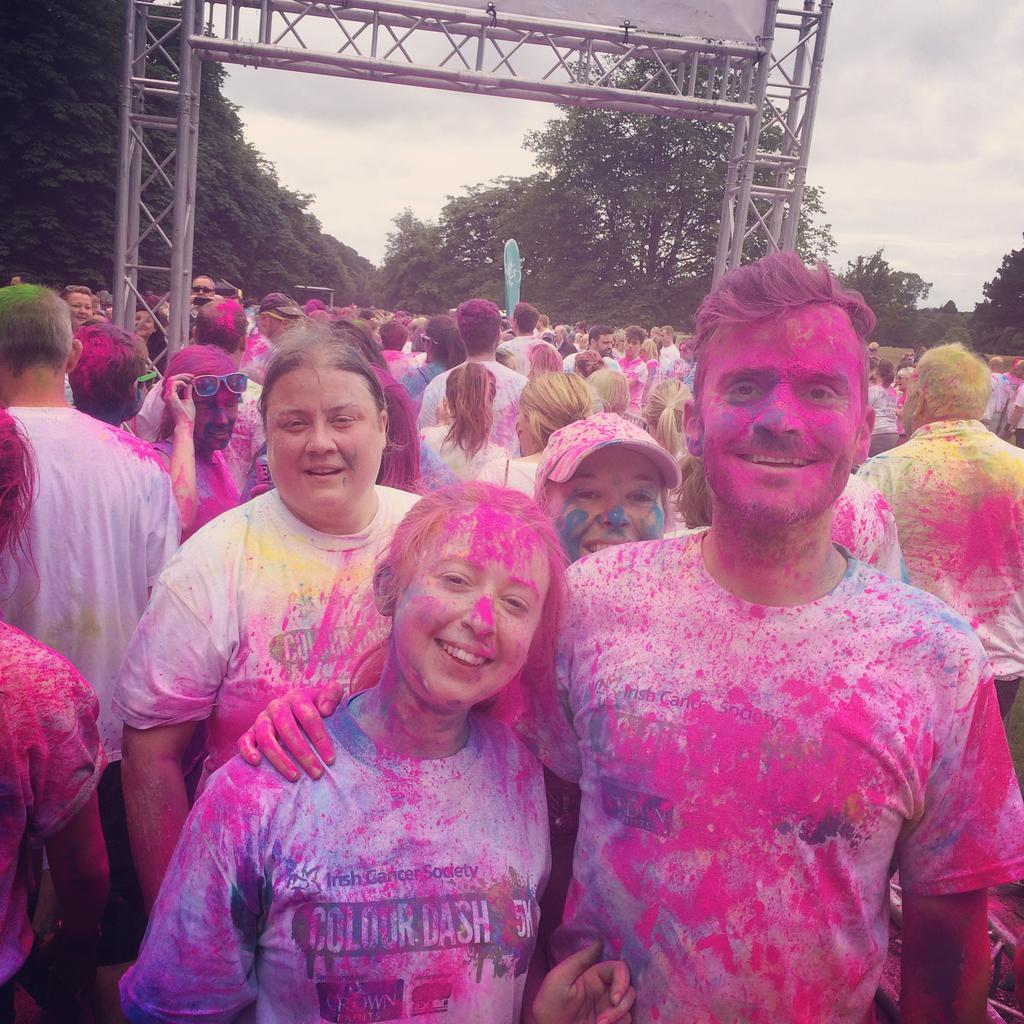 Team pink: Aisling, Emily, Fransua and Eadaoin