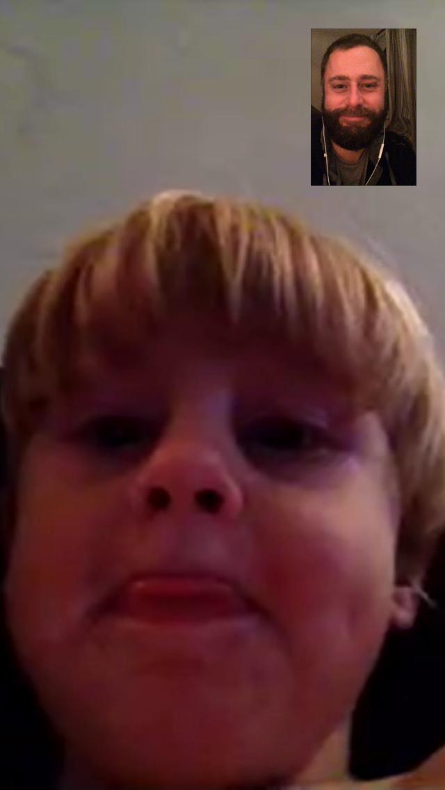 Garrett on Facetime