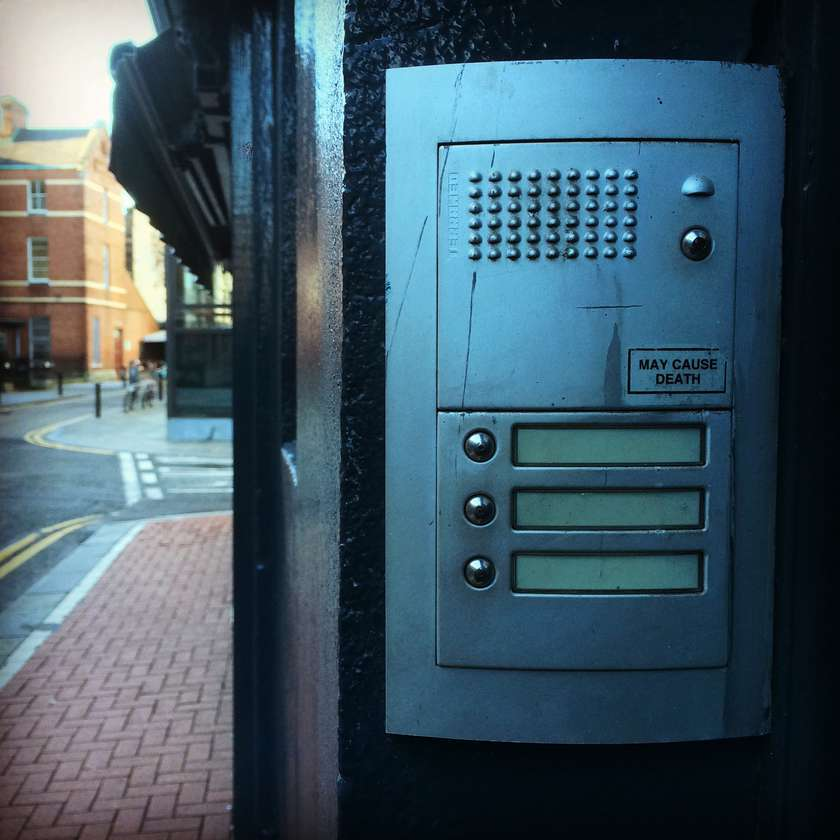 The most exciting button in all of Dublin