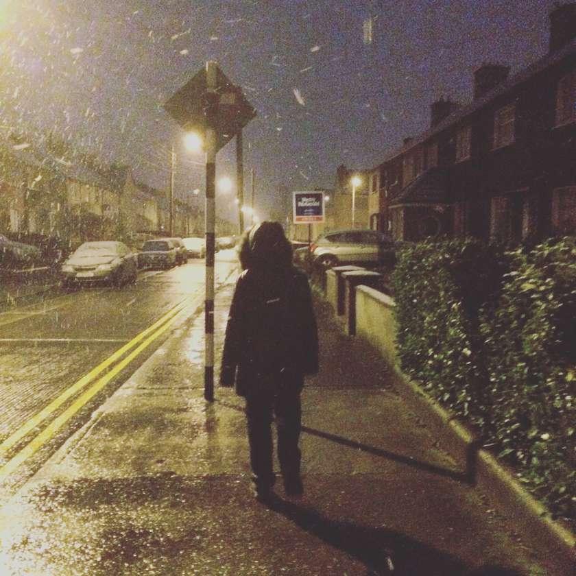Eadaoin in the snow