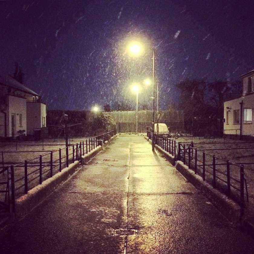 Windy Arbour snow