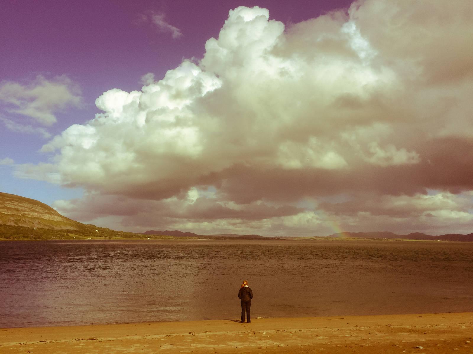 Eadaoin at Ballysadare Bay