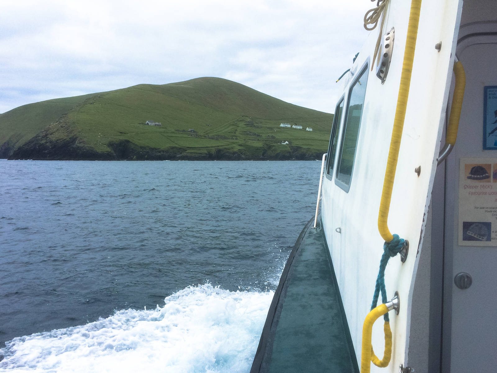 The approach to Great Blasket
