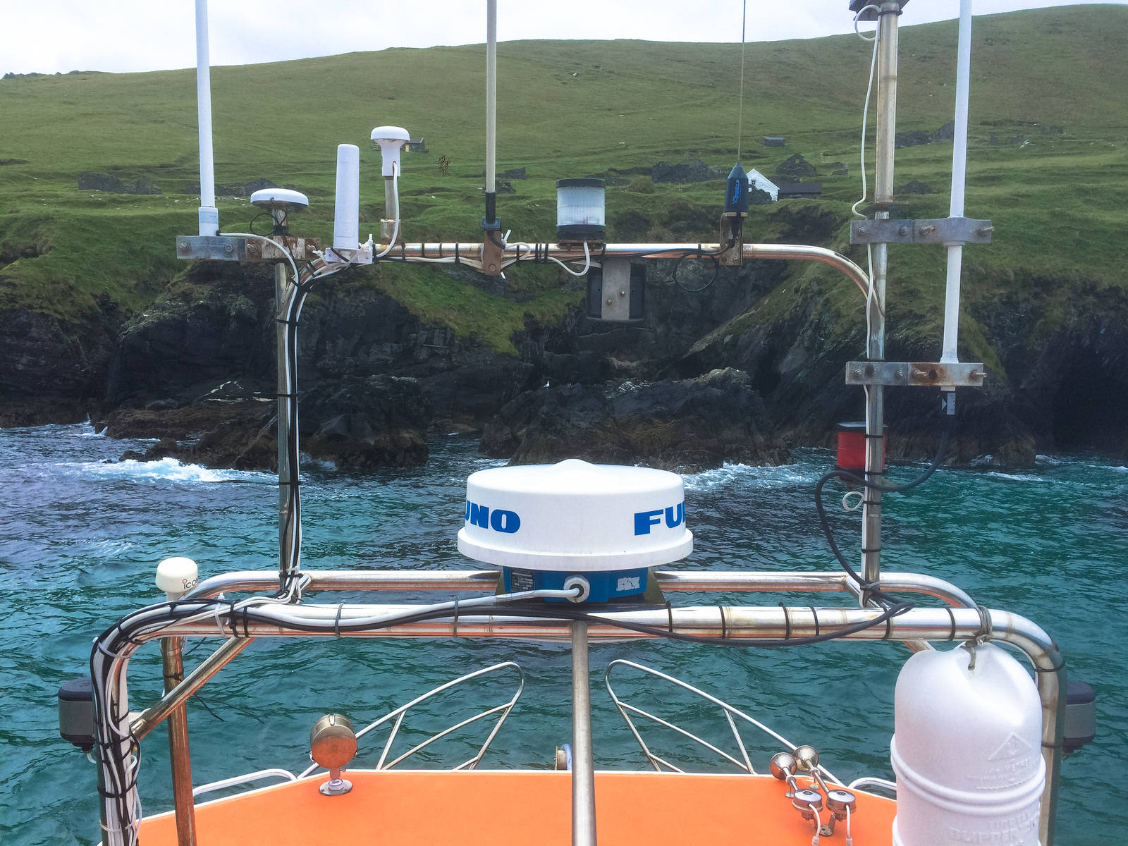 Intrumentation on the Blasket Princess