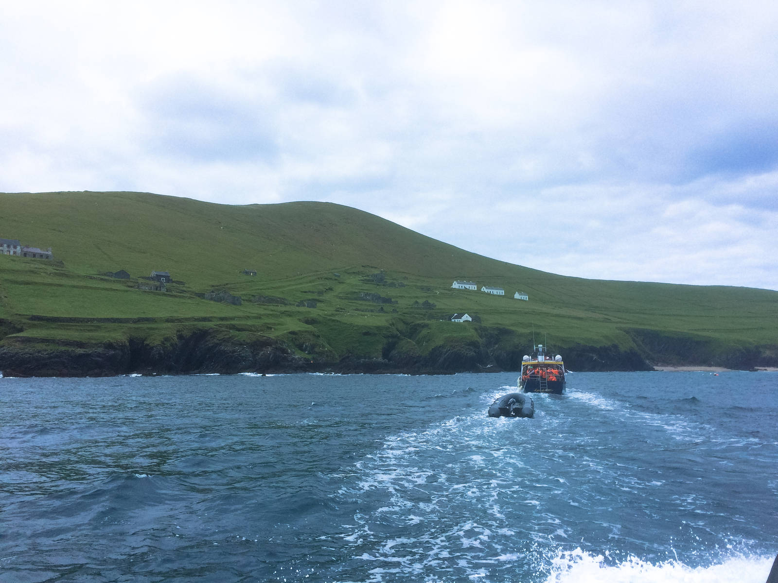 Leaving Great Blasket