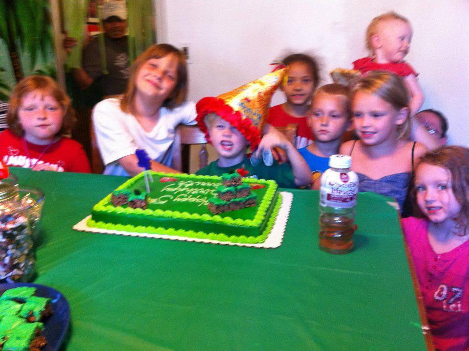Garrett turns seven!
