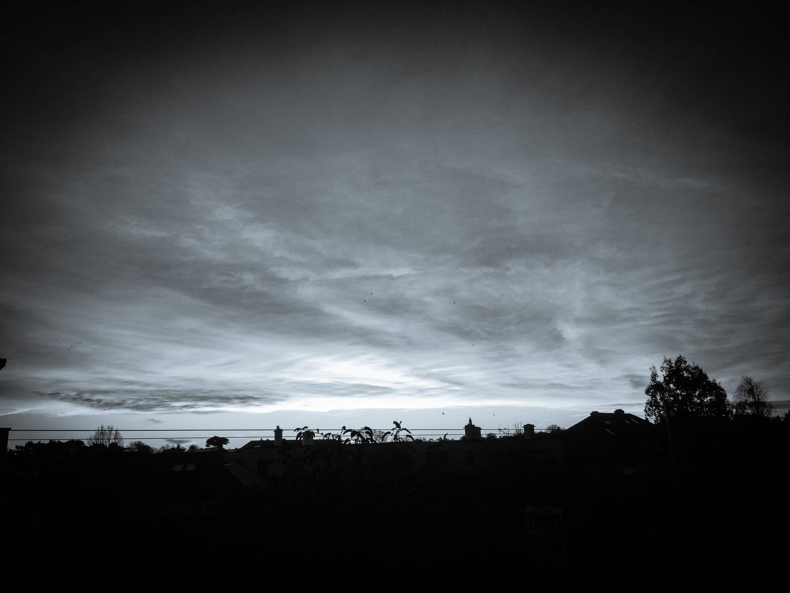Dawn light over Dundrum, Ireland