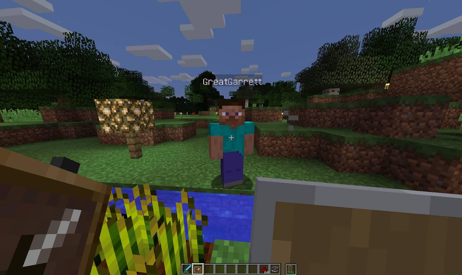 Garrett in Minecraft