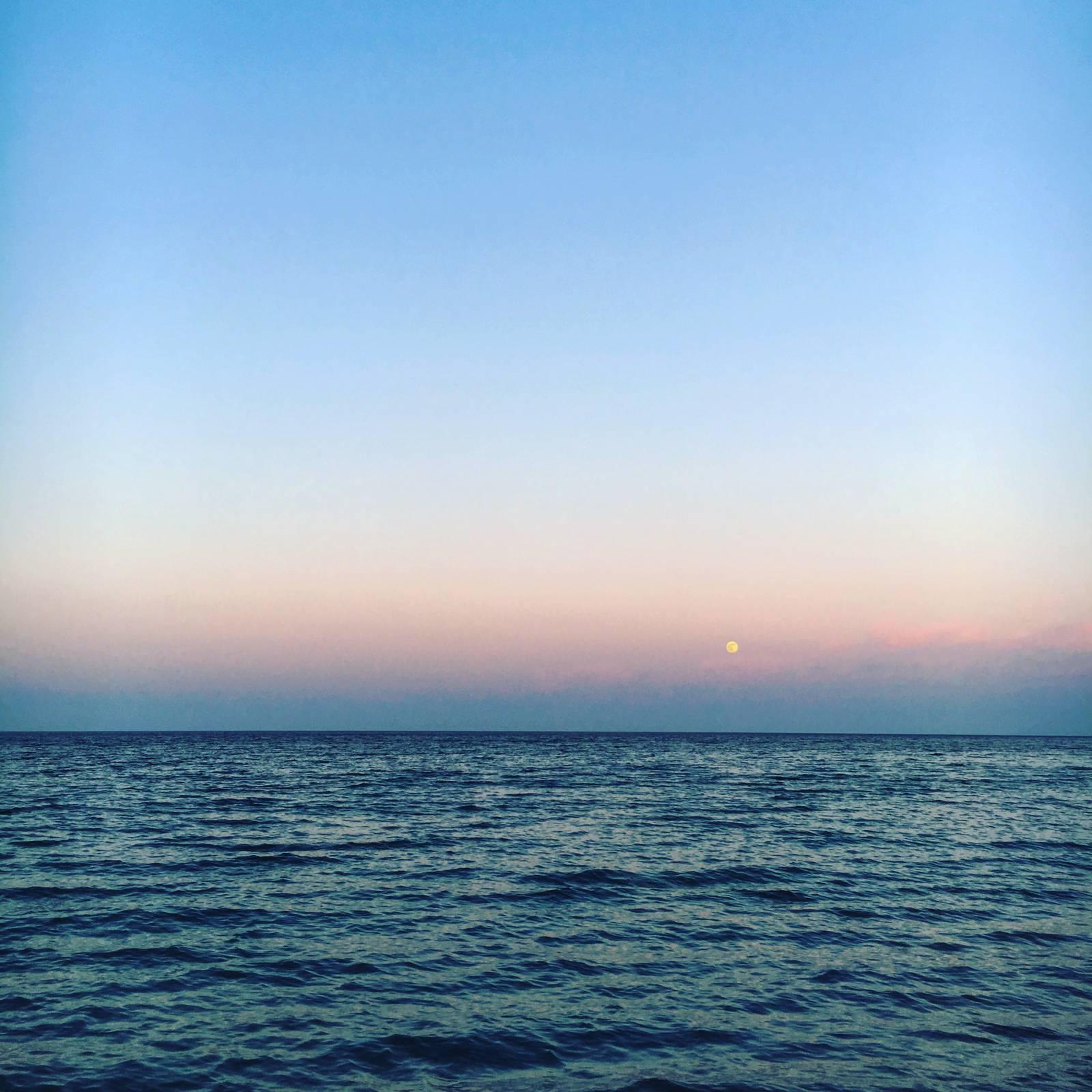 Moonrise over Bray