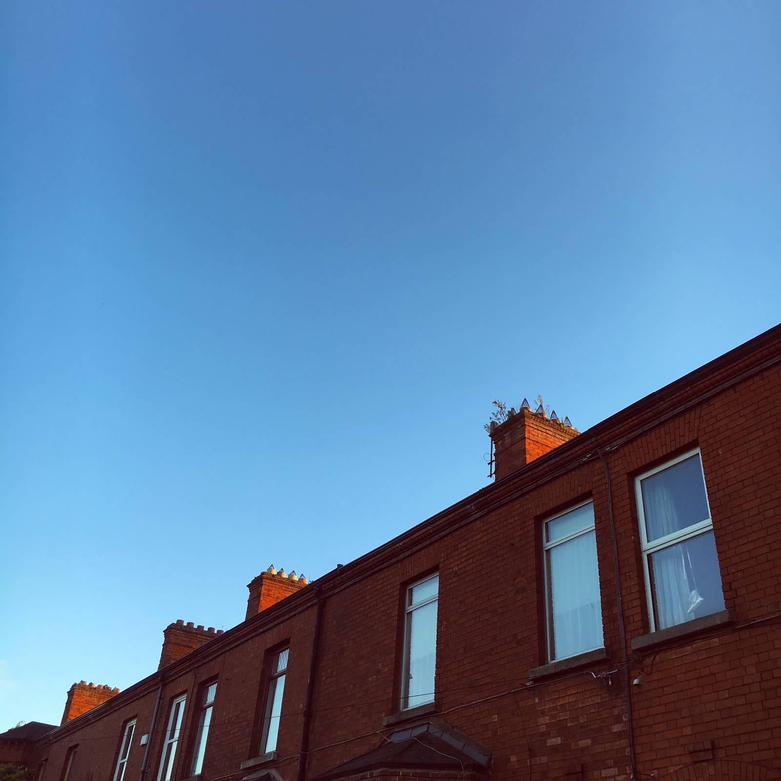 Sunset Rooftops in Dublin