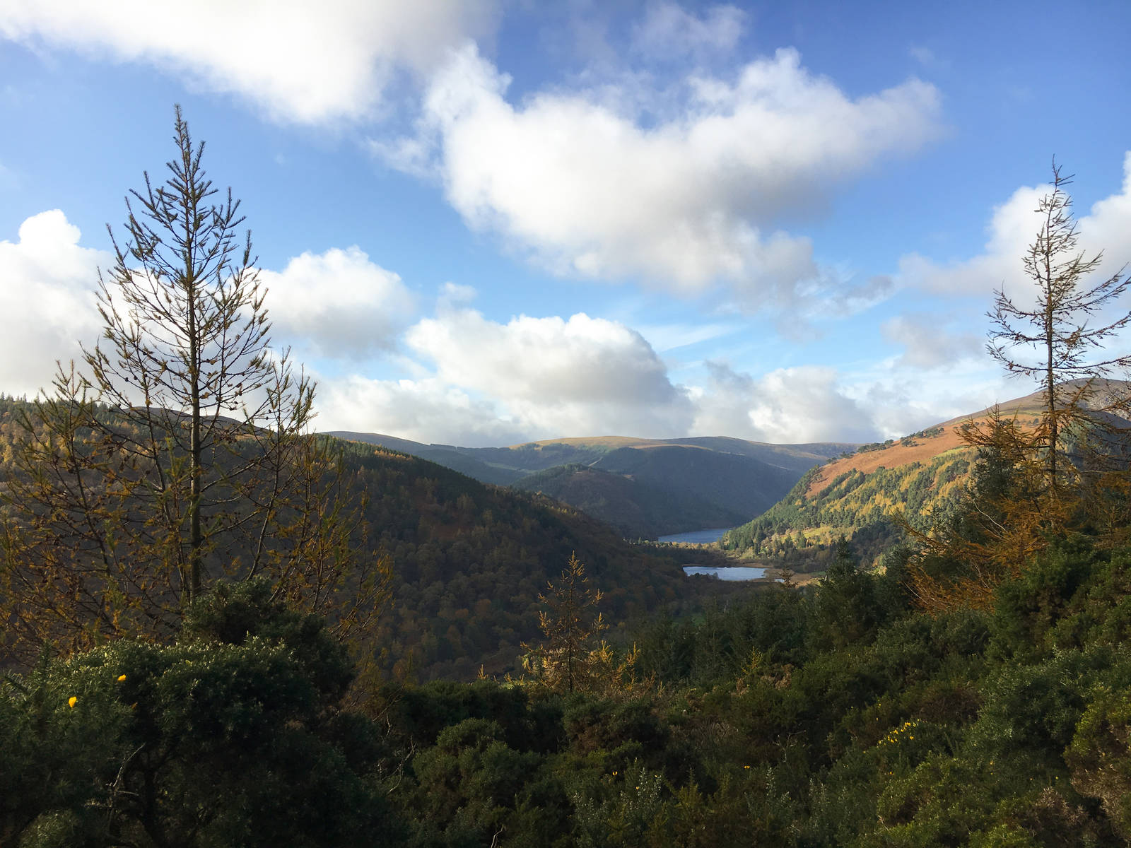 The Glendalough Valley