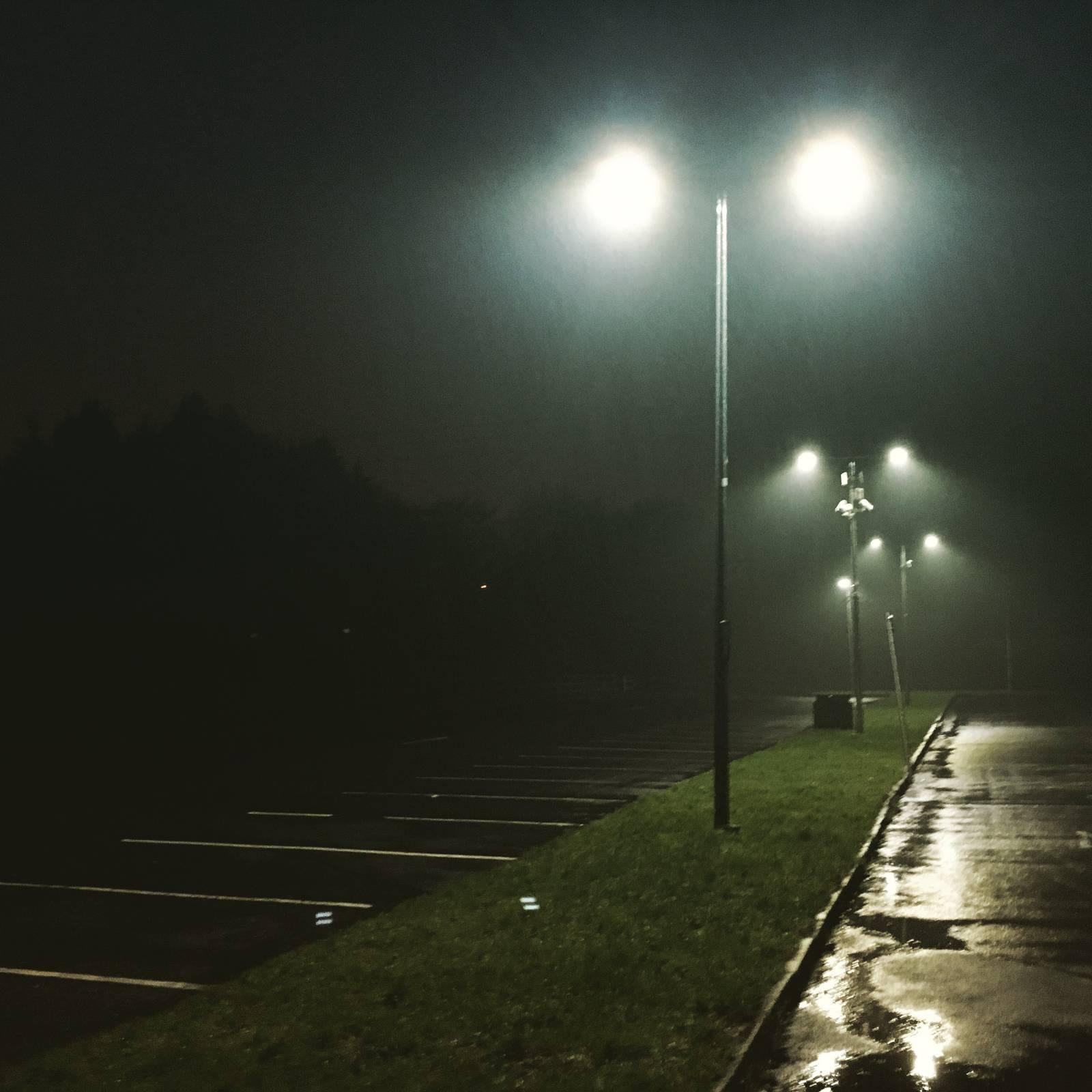 Misty night at Dangan