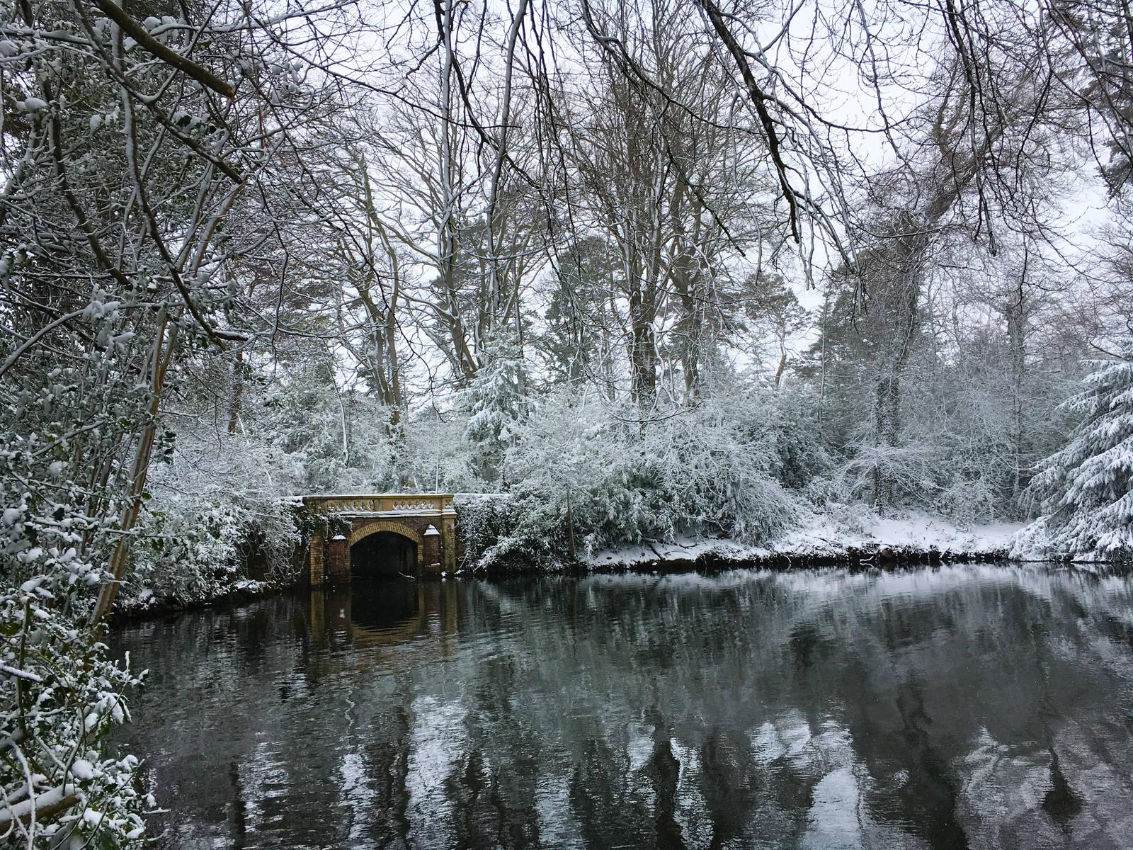 Marlay Park, Dublin, in the snow