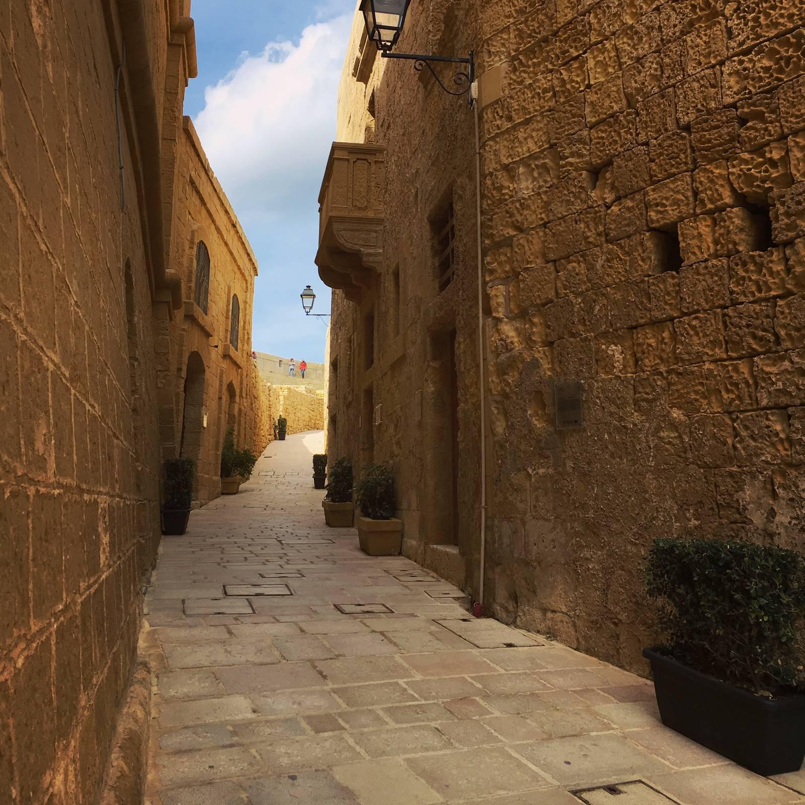 Alleyway in the Citadello, Victoria