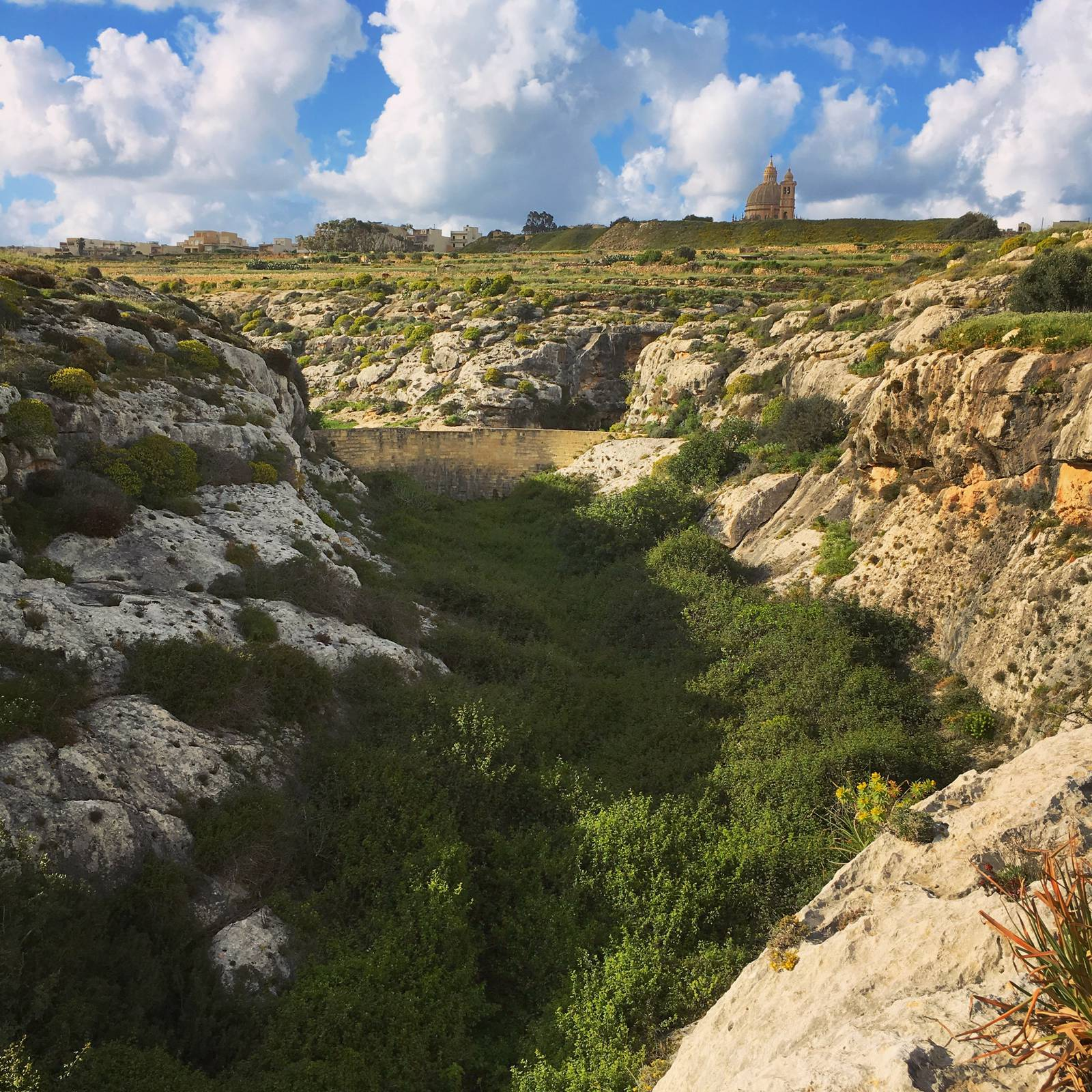The head of the Mgarr ix-Xini gorge