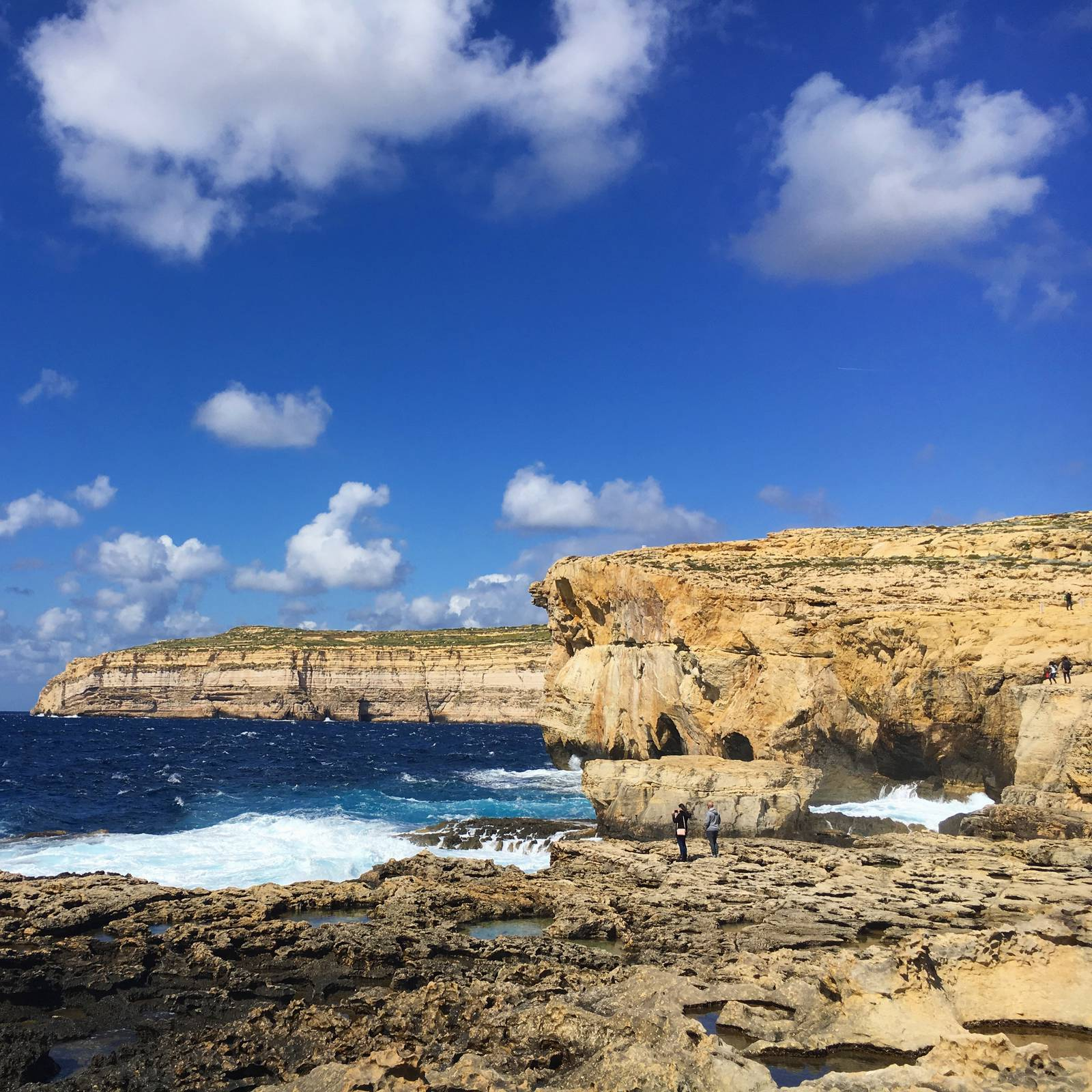 The former Azure Window at Dwerja