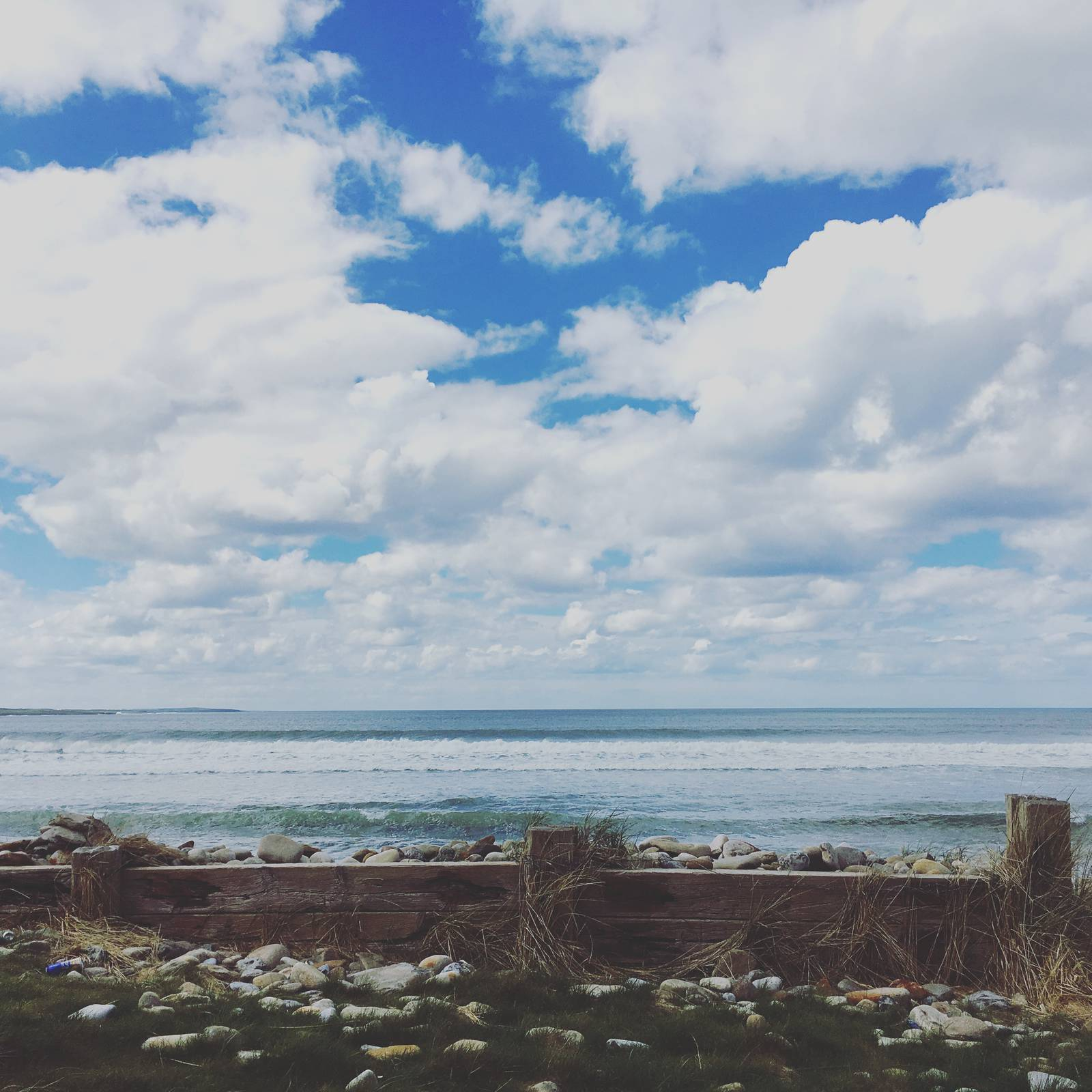 The Atlantic Ocean from Strandhill