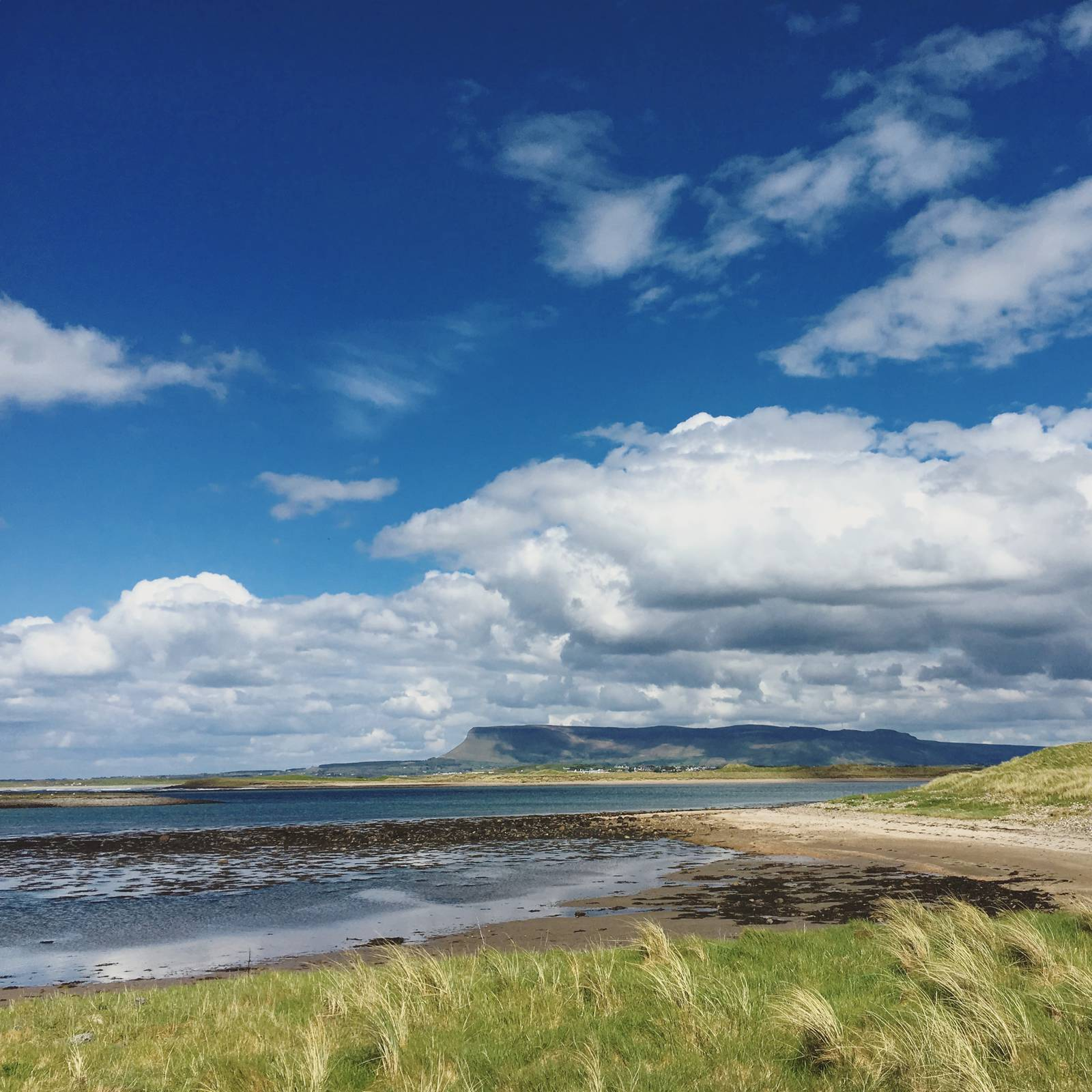 Benbulben and Sligo Bay from Strandhill