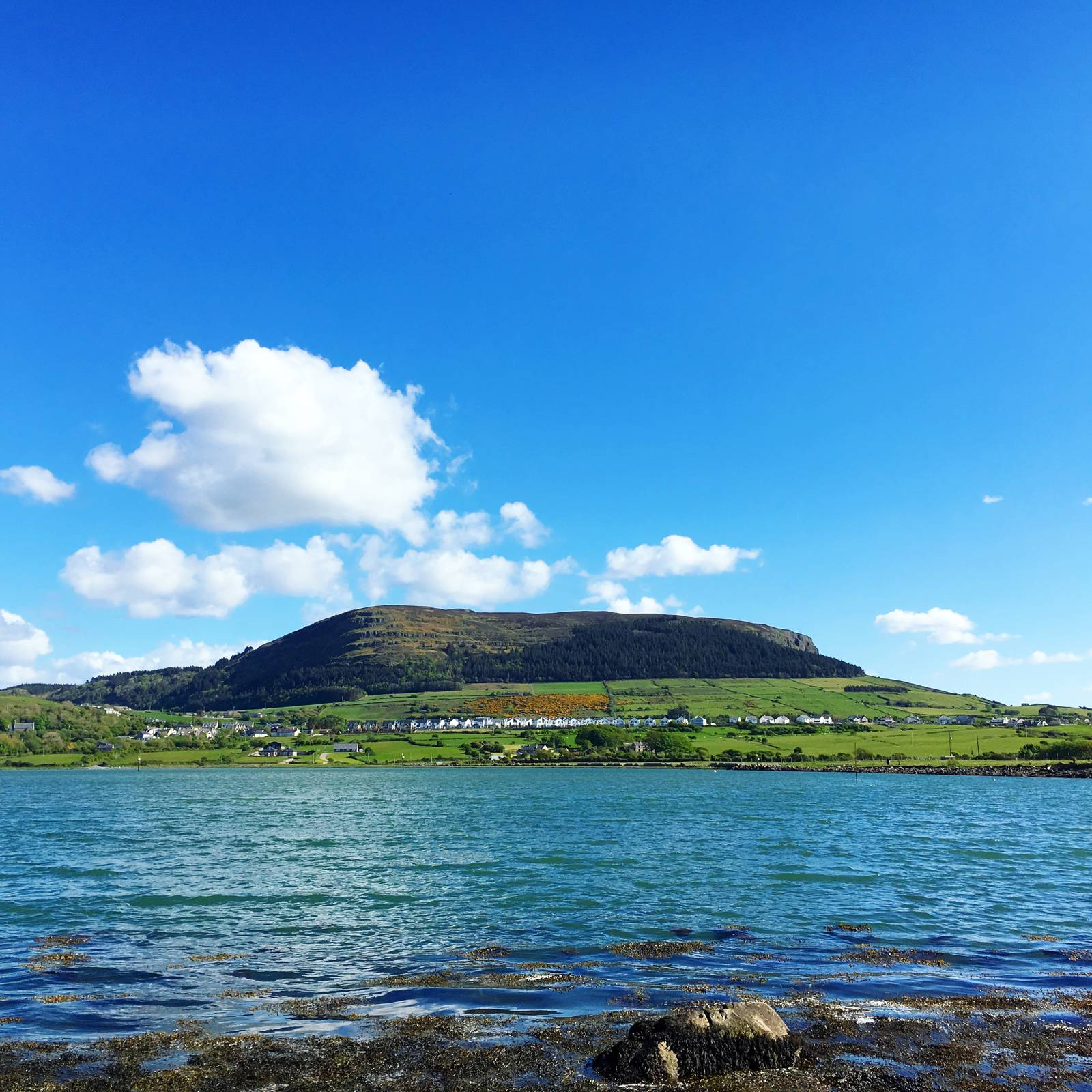 Knocknarea from the shore of Sligo Bay