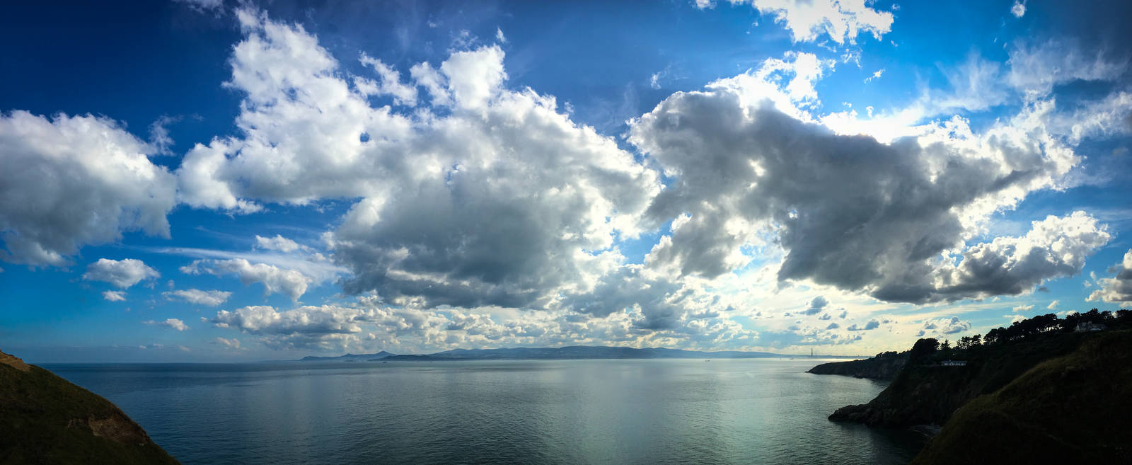 Dublin Bay cloudscape from Howth