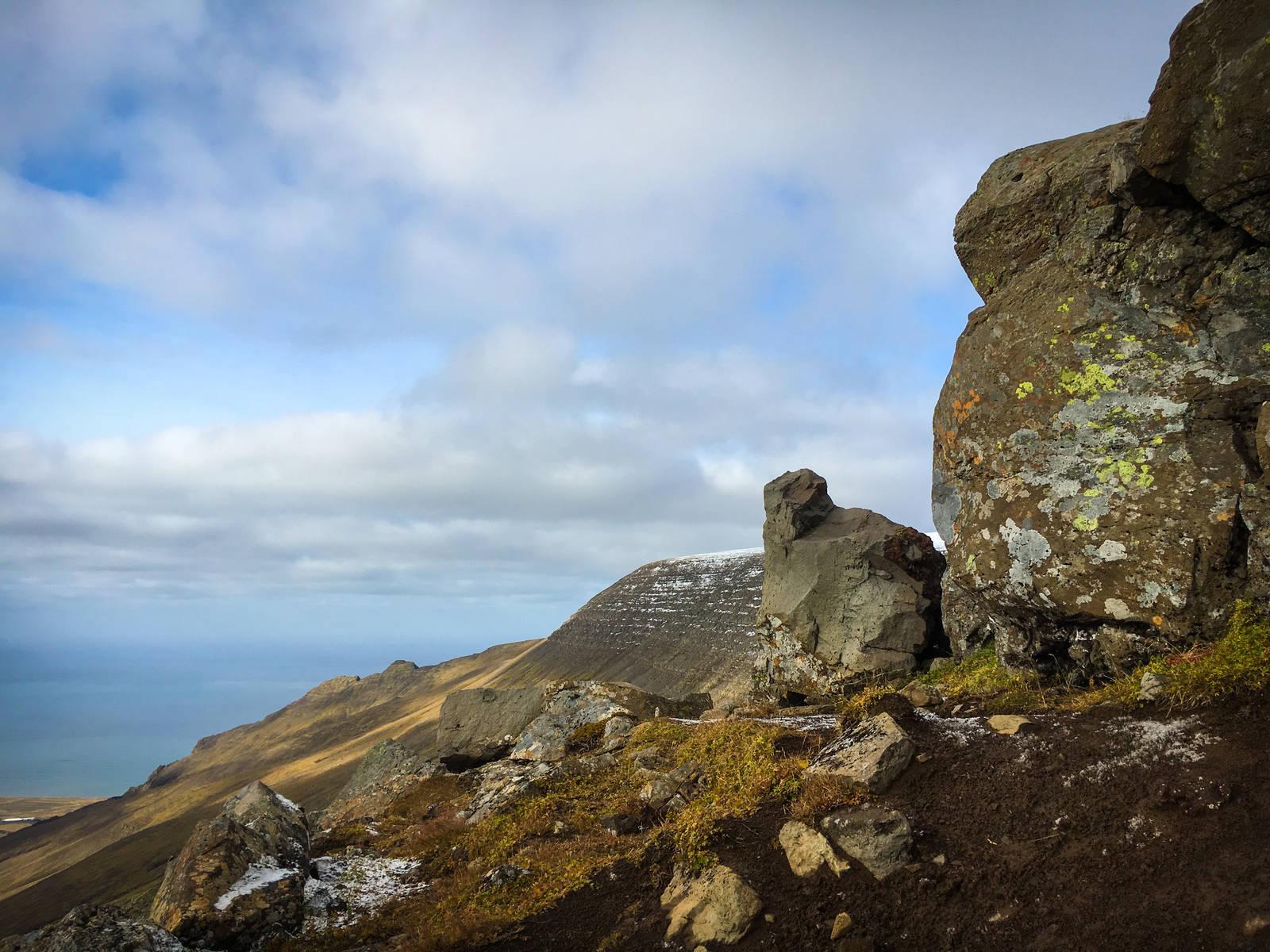 The view west from Þverfellshorn