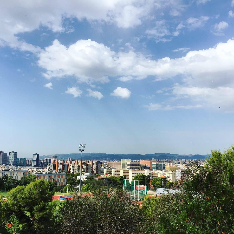 Barcelona from Montjuïc