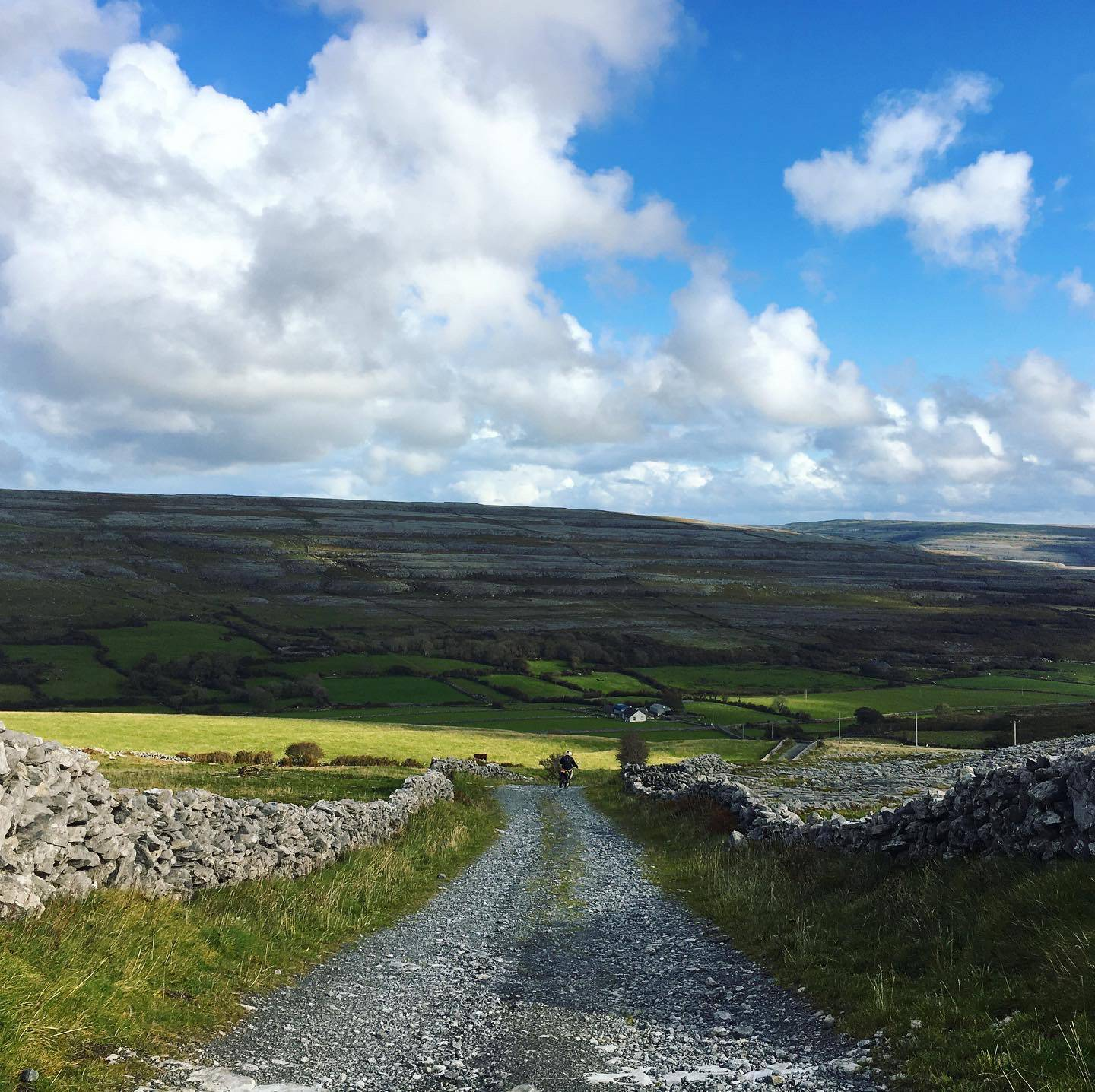 Vistas from the Burren between Fanore and Ballyvaghaun