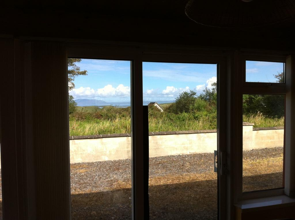 The view from the house toward Donegal Bay