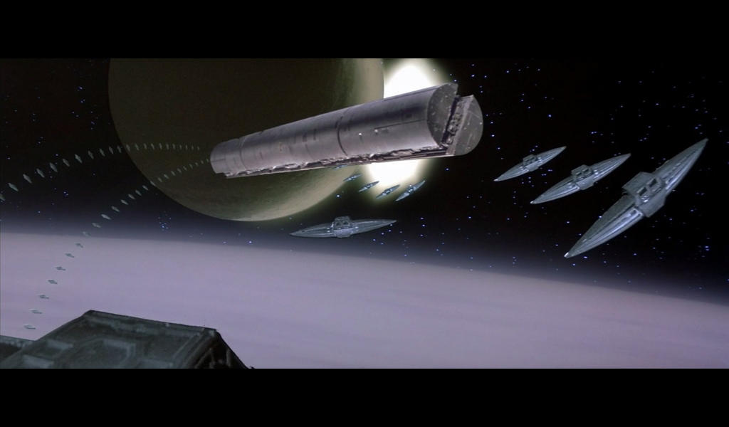 Spacing Guild Heighliner in Dune (1984)
