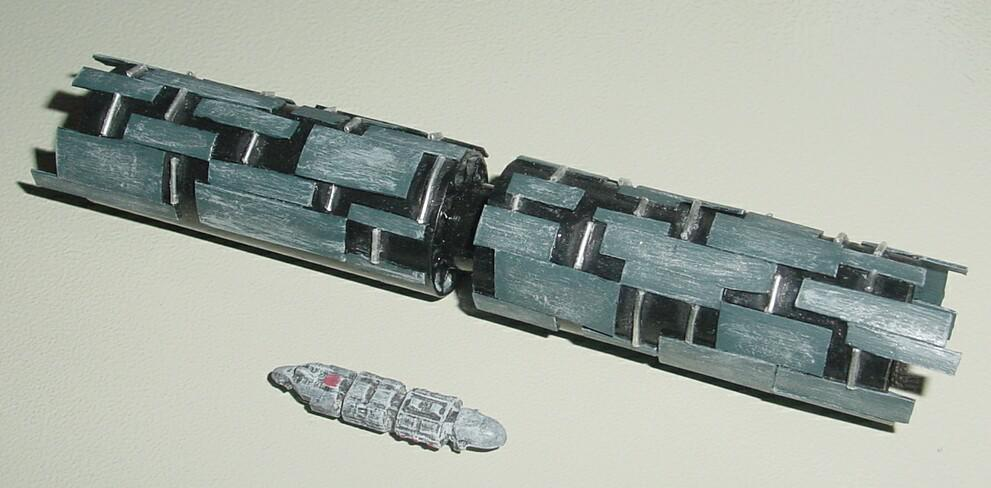 Spacing Guild Heighliner from SyFy's Dune (2000)