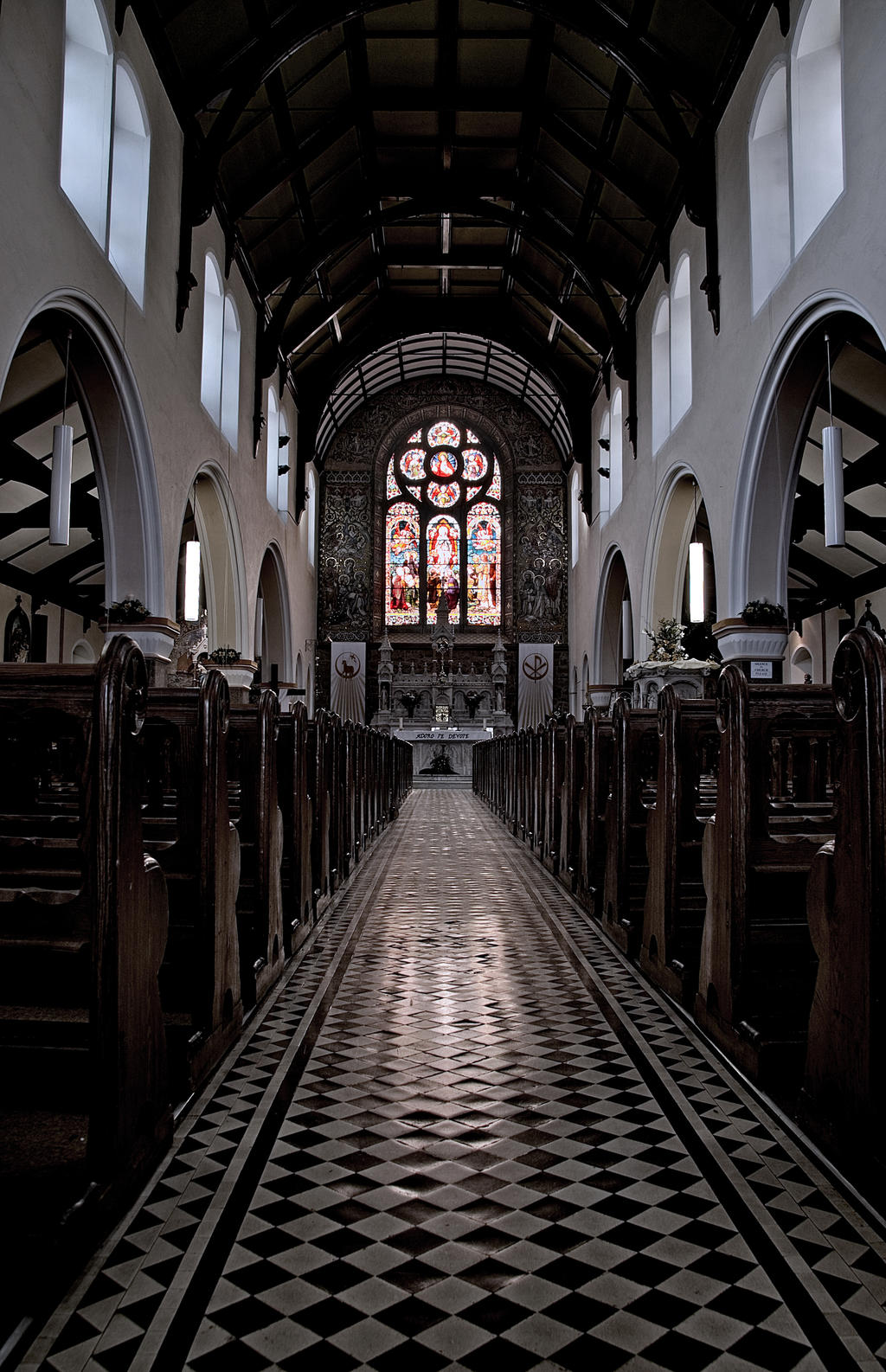 Saint Mary's Church nave