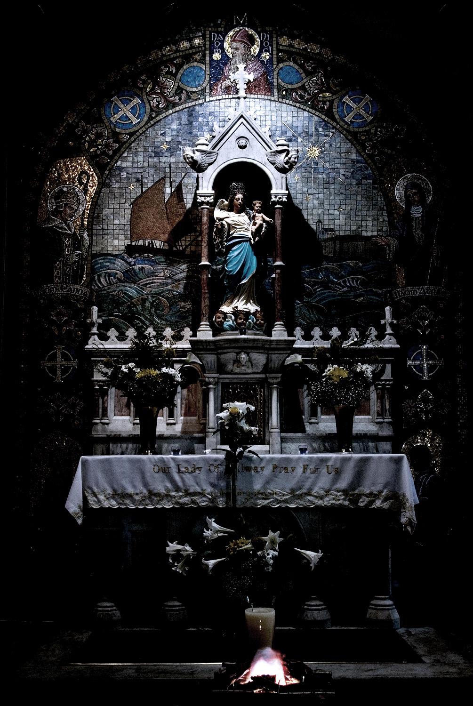 Saint Mary's Church altar