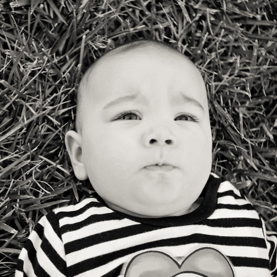 Adorable baby Emi at the park!