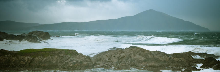 Viewpoints from around Achill's atlantic coast