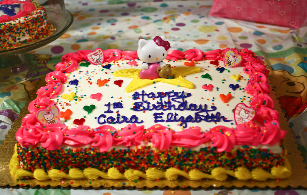 Caira's birthday cake