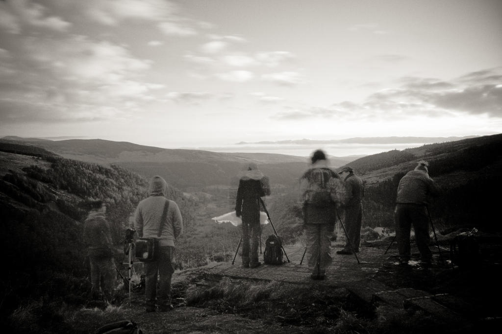 Glendalough #2: Group portrait