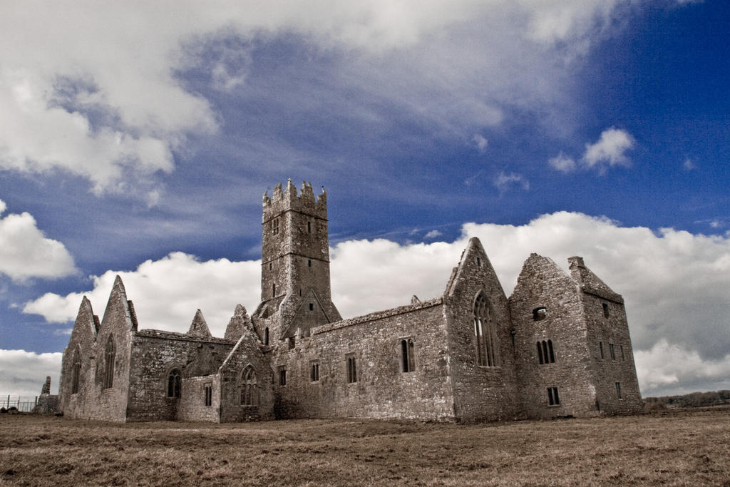 Ross Errily Friary - visible light