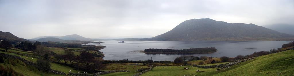 Lough Corrib from Carrowgarriff, looking forward Hen's Castle
