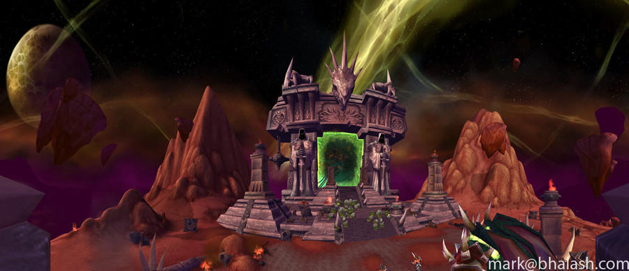 The Dark Portal-Hellfire Peninsula